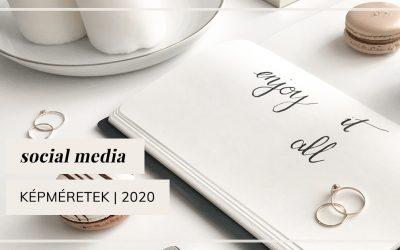Social media képméretek | 2020